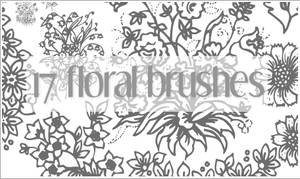 Floral Brushes for PS7