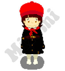OC Ghibli Girl Pixel Gif by Mizumi-9