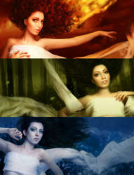 3 Muses Animation by elestrial