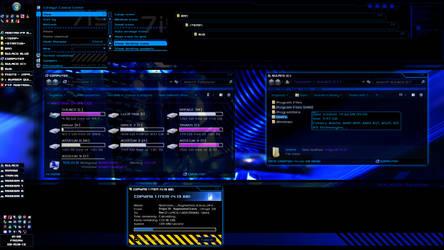 Sulaco Visual Style v0.15 blue (Windows 7 theme)
