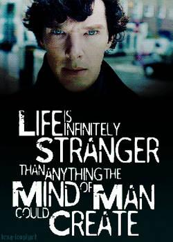 Life is Infinitely Stranger