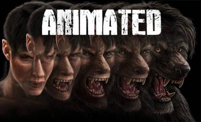 Animated Werewolf TF