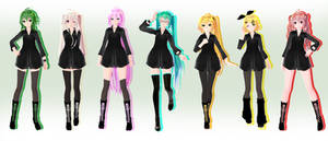 TDA Black Pack - MMD DL