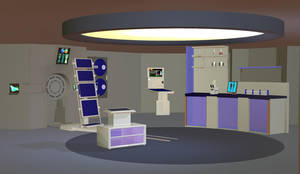 NX Style Sick bay props Poser