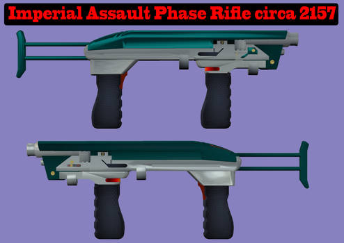 Imperial Phase Rifle