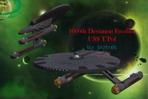 1000th Deviation Free Model USS T'Pol