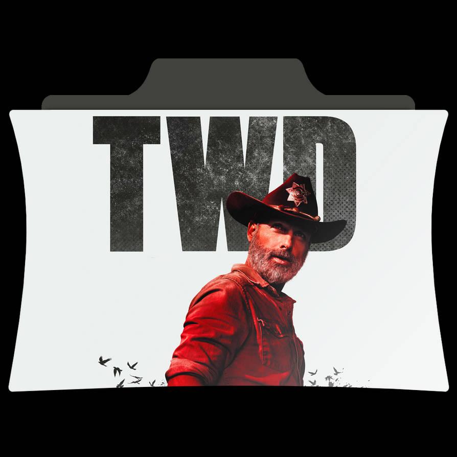 The Walking Dead Season 9 Tv Series Folder Icon By Amr