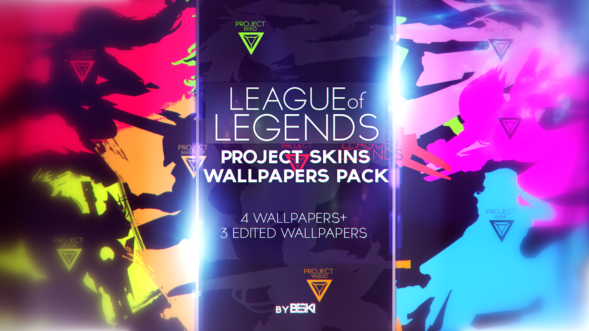 League of legends wallpaper pack -  League Of Legends Project Skins Wallpapers Pack By By Beszky