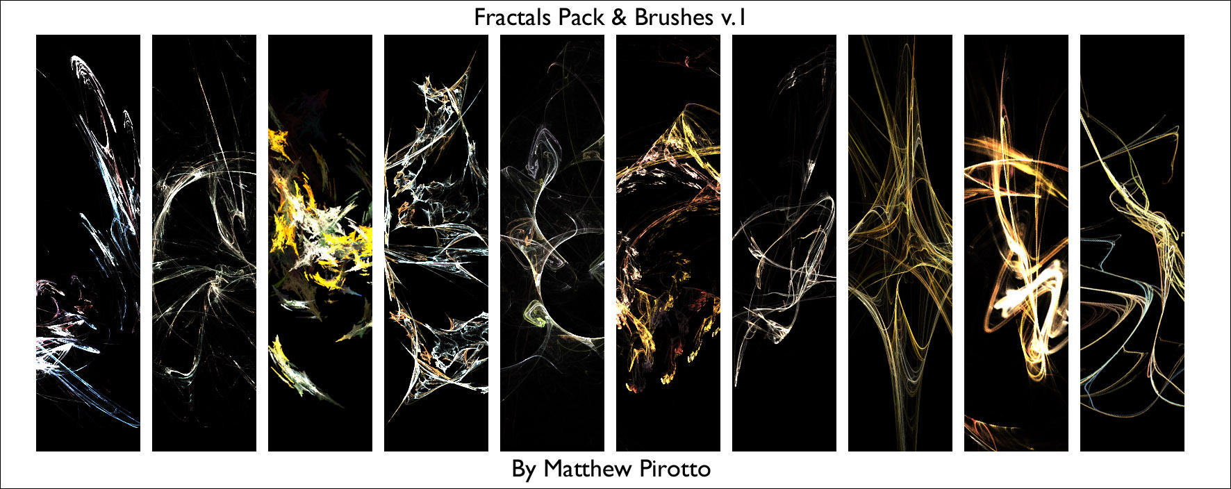 Fractals and Fractal Brushes by MatthewP