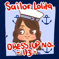 Sailor Lolita Dress Up [Dress Up No. 13] by kiniBee