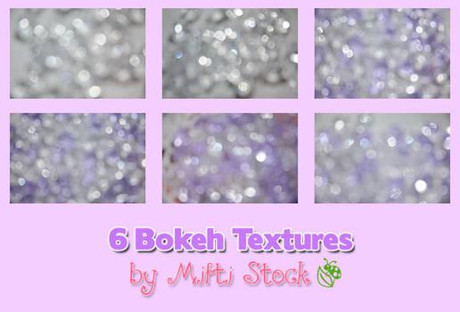 6 Bokeh Textures Pack II