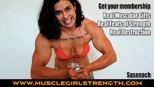 Real Anime Muscle Girl