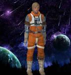 Luke Skywalker a rebel pilot
