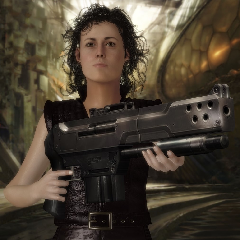 Sci-Fi Shotgun by jc-starstorm