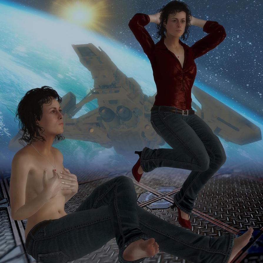 Ellen Ripley Jeans mod by jc-starstorm