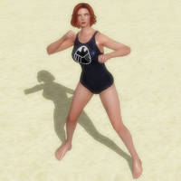Black Widow Swimsuit by jc-starstorm