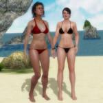 Ellen Ripley and Annalee Call Bikini Mod