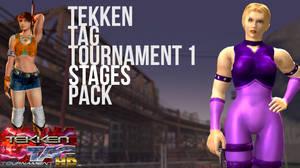 Tekken Tag Tournament 1 stages (Updated)