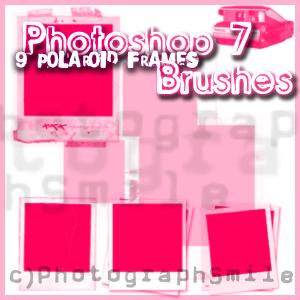 Polaroid Brushes by PhotographSmile