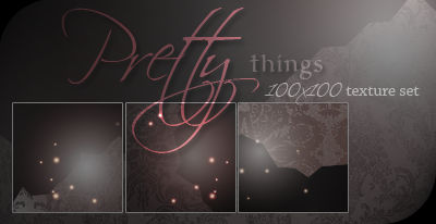Pretty things: texture set