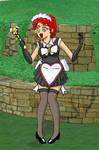 SH: big Sailor Hestia 'transformation' sequence