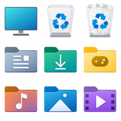 Windows 10 21343 new icons pack