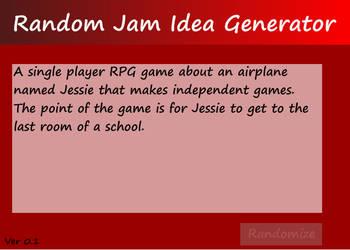Random Game Idea Generator by klopki