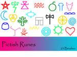 Pictish Runes Brushes