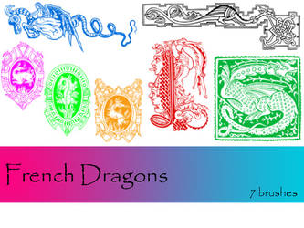 French Dragons by TD-Brushes