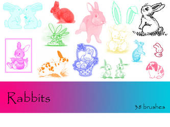 Rabbits by TD-Brushes