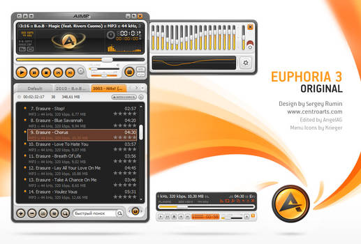 Euphoria, skin for AIMP3