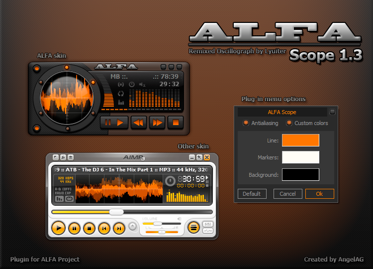ALFA Scope for AIMP3 by AngelAG3