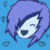 Blue icon.  .u. by suicidal-moo