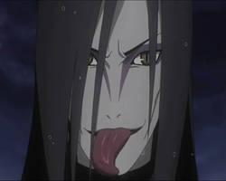 Orochimaru Tongue Action 13