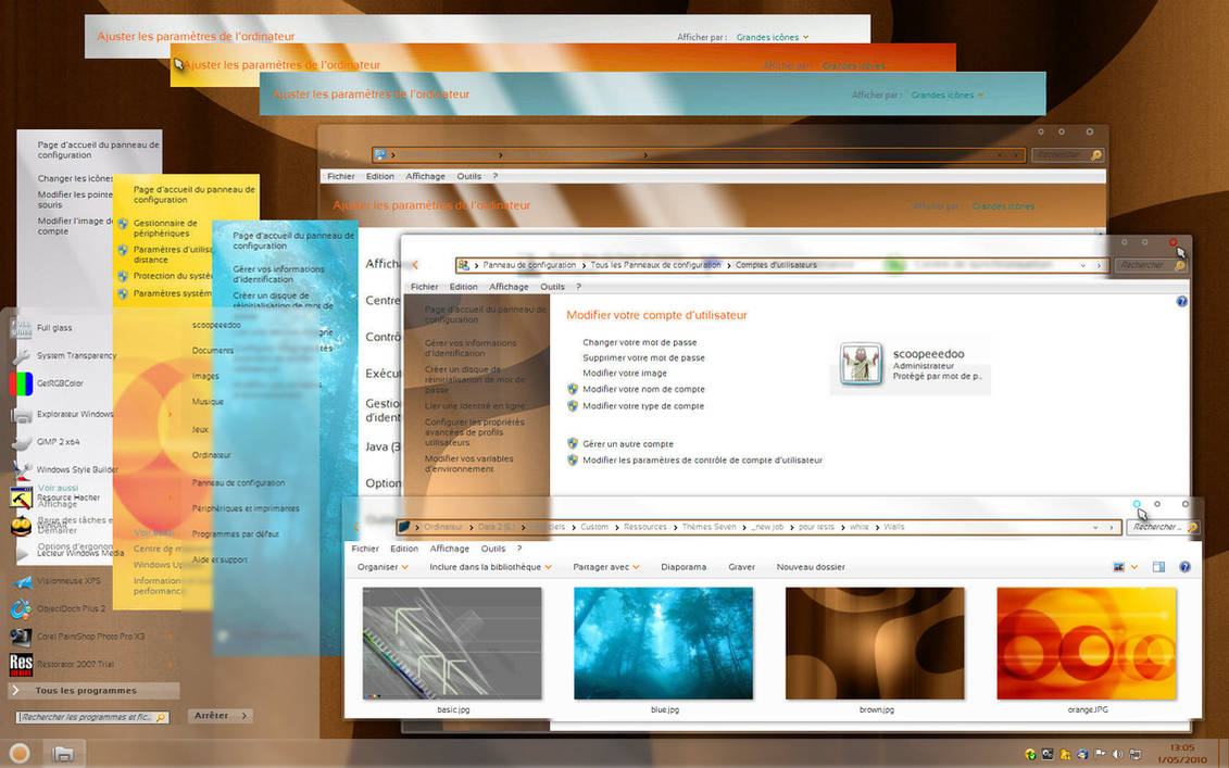 Windows MiMosa for Widnows 7