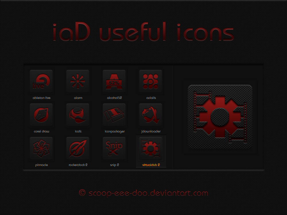 iaD useful icons