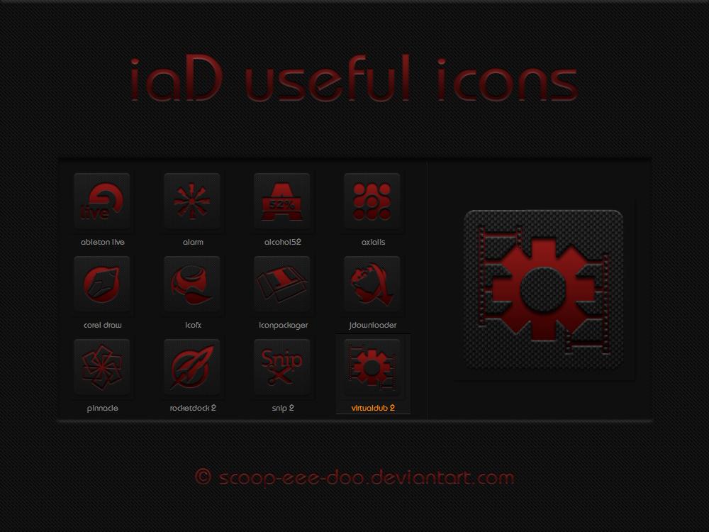 iaD useful icons by scoopeeedoo