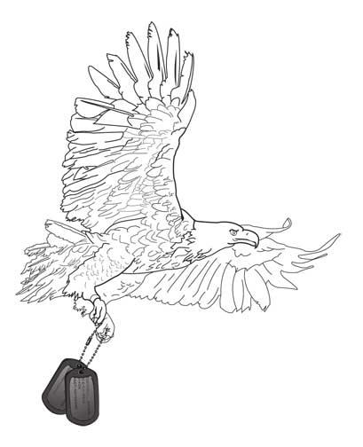 Eagle Tattoo Line Drawing : Eagle tattoo outline by jenni design on deviantart