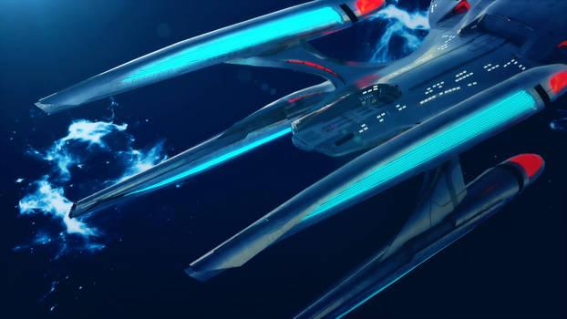 Valkyrie and Valravn Docking   Star Trek: Theurgy