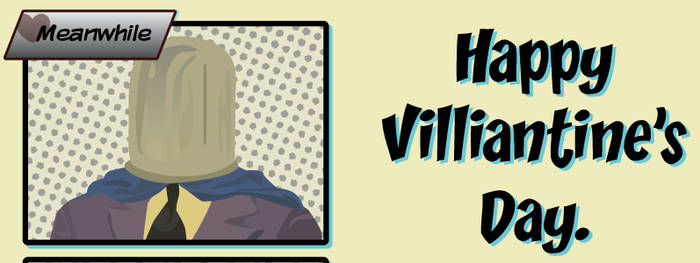 Happy Villiantine's Day Card