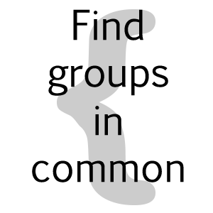 dA Group Intersection for two users