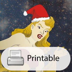 Out Of This World Christmas Card by CodeAndReload