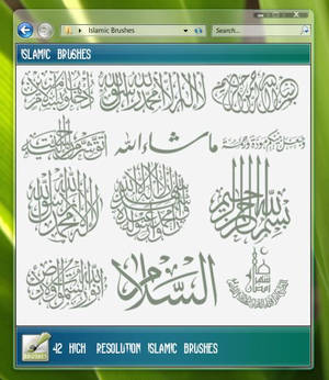 Islamic Brushes 2