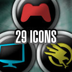 Black Buttons - Dock Icons