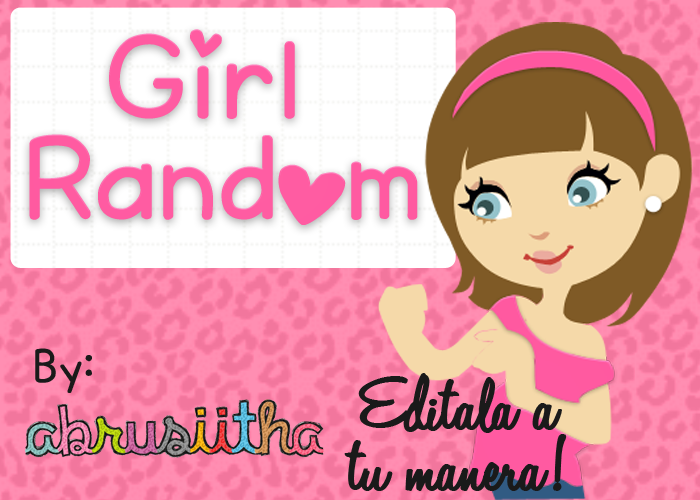 Girl Random.PSD by Abrusiitha