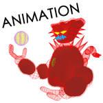Neon-Demon - Battle animation