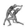 Free Wrestling Poses for Genesis (Free Download) by sedartonfokcaj