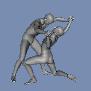 Free Wrestling Poses for Genesis (Free Download) by sedartonfokcaj