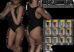 Basic Swimsuit for Genesis 2 Female