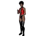 Mortal Kombat Suit and Boots for Genesis 2 Female